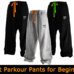 Best Parkour pants for Beginners | Work out pants for free running, yoga and calisthenics