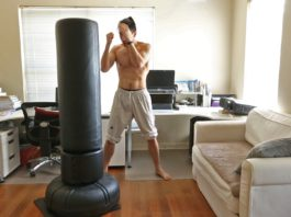 Century Standing Boxing Bag and Everflex Punching Bag for Beginners