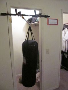 How to Make a Punching Bag with Home Supplies  be44a6996