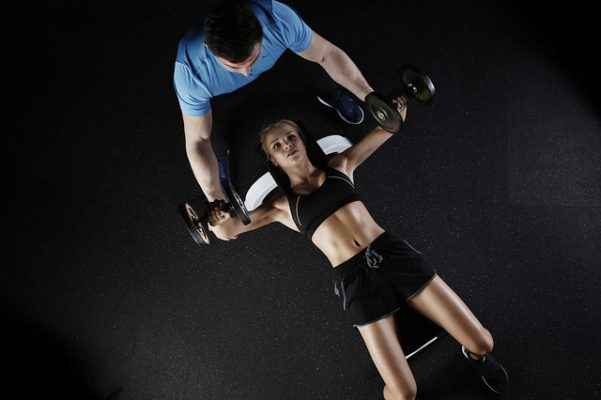 Dumbbells, Workout, Girls, Fitness, Exercise, Home Gym