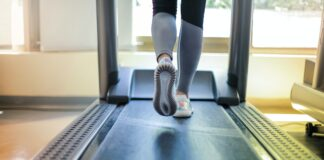 Can You Put a Treadmill on Carpet - Girl on treadmill