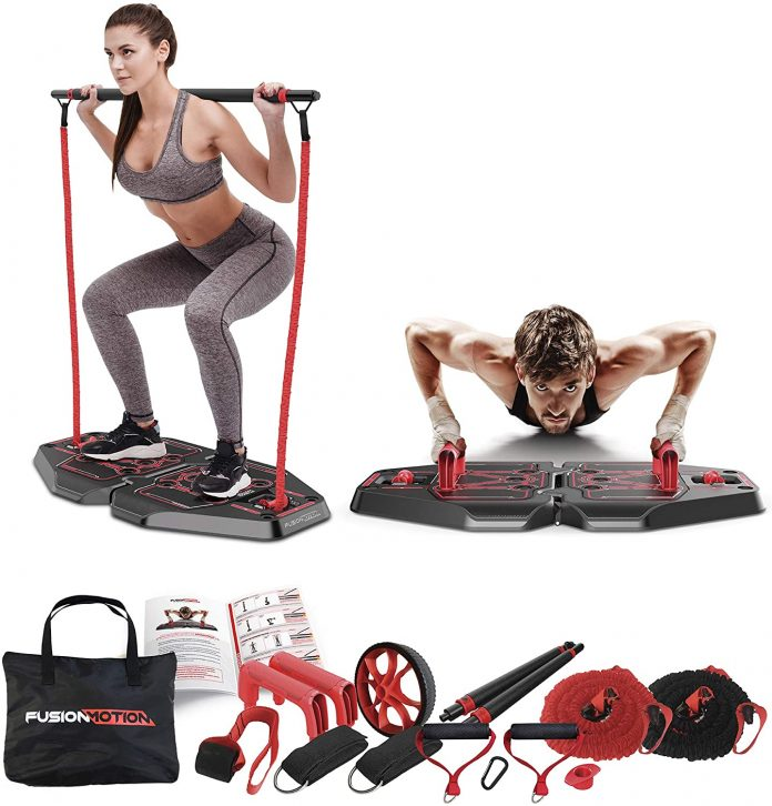 Fusion Motion Portable Gym with 8 Accessories